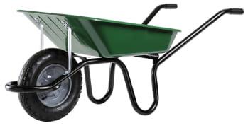 Brouette Haemmerlin avec roue et pneu cranté tout terrain ...