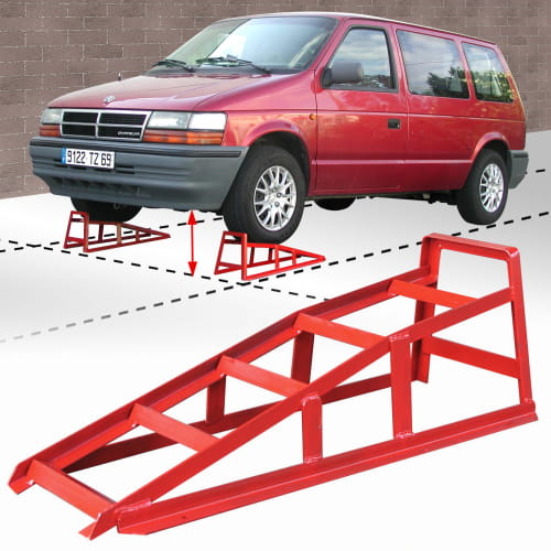 rampe de levage pour voiture outifrance rfi. Black Bedroom Furniture Sets. Home Design Ideas